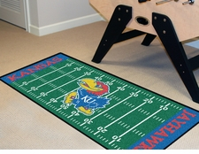 "Kansas Jayhawks Football Runner 30""x72"" Floor Mat"