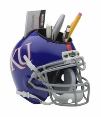 Kansas Jayhawks Helmet Desk Caddy