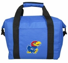 Kansas Jayhawks Kolder 12 Pack Cooler Bag