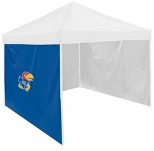 Kansas Jayhawks Royal Side Panel for Logo Tents