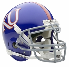 Kansas Jayhawks Schutt Authentic Full Size Helmet