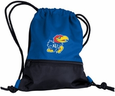 Kansas Jayhawks String Pack / Backpack