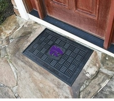 Kansas State Wildcats 19x30 Medallion Door Mat