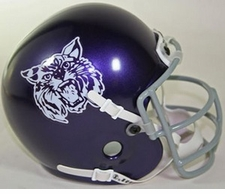 Kansas State Wildcats 1972-73 Schutt Throwback Mini Helmet