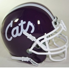 Kansas State Wildcats 1988 Schutt Throwback Mini Helmet