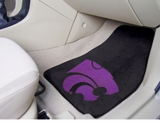 Kansas State Wildcats 2-Piece Carpeted Car Mats Front Set