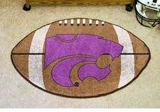 "Kansas State Wildcats 22""x35"" Football Floor Mat"