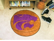 "Kansas State Wildcats 27"" Basketball Floor Mat"