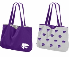 Kansas State Wildcats Reversible Tote Bag