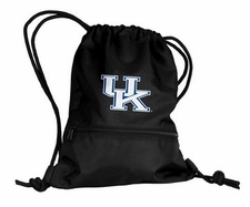 Kentucky Wildcats Black String Pack / Backpack