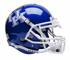 Kentucky Wildcats Blue Schutt XP Authentic Helmet
