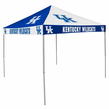 Kentucky Wildcats Blue / White Checkerboard Logo Canopy Tailgate Tent