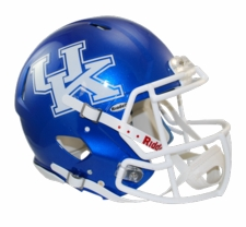 Kentucky Wildcats Riddell Revolution Speed Authentic Helmet