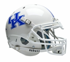 Kentucky Wildcats White Schutt XP Authentic Helmet