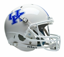 Kentucky Wildcats White Schutt XP Full Size Replica Helmet