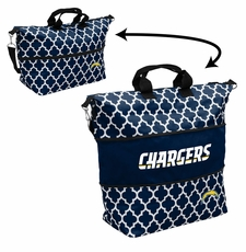 LA Chargers  - Expandable Tote (patterned)