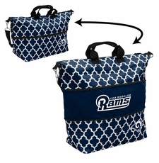 LA Rams  - Expandable Tote (patterned)