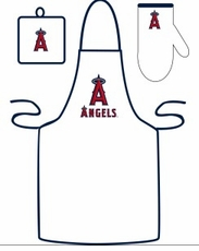 Los Angeles Angels of Anaheim Cooking / Grilling Apron Set
