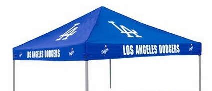 Los Angeles Dodgers Blue Canopy Tailgate Tent