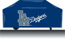 Los Angeles Dodgers Deluxe Barbeque Grill Cover