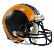 Los Angeles Rams (St. Louis) 1981-99 Throwback Replica Mini Helmet