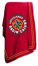 Louisiana Lafayette Ragin Cajuns Classic Fleece Blanket