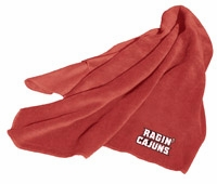 Louisiana Lafayette Ragin Cajuns Fleece Throw