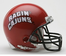 Louisiana-Lafayette Ragin Cajuns Riddell Replica Mini Helmet
