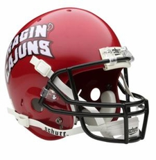 Louisiana Lafayette Ragin Cajuns Schutt Authentic Full Size Helmet