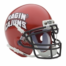 Louisiana Lafayette Ragin' Cajuns Schutt Authentic Mini Helmet