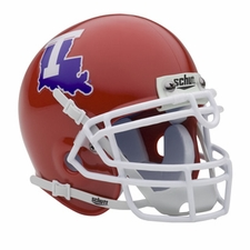Louisiana Tech Bulldogs Schutt Authentic Mini Helmet