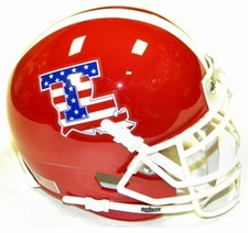 Louisiana Tech Bulldogs USA Flag Schutt XP Authentic Mini Helmet