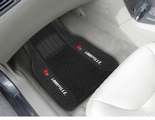Louisville Cardinals 2-Piece Deluxe Car Mats