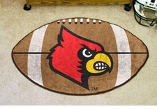 "Louisville Cardinals 22""x35"" Football Floor Mat"