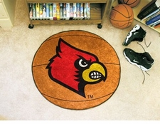 "Louisville Cardinals 27"" Basketball Floor Mat"