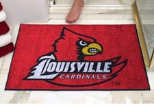 "Louisville Cardinals 34""x45"" All-Star Floor Mat"