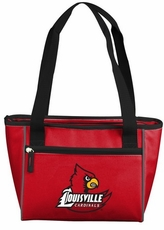 Louisville Cardinals 8 Can Cooler Tote