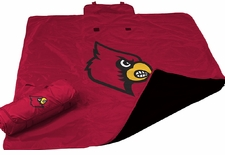 Louisville Cardinals All Weather Blanket