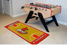 "Louisville Cardinals Basketball Runner 30""x72"" Floor Mat"