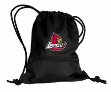 Louisville Cardinals Black String Pack / Backpack