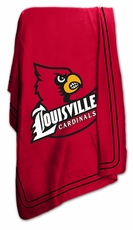 Louisville Cardinals Classic Fleece Blanket