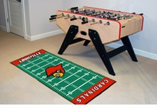"Louisville Cardinals Football Runner 30""x72"" Floor Mat"
