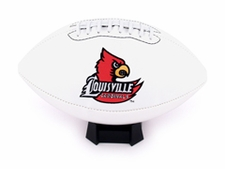 Louisville Cardinals Fotoball Signature Embroidered Full Size Football