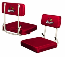 Louisville Cardinals Hard Back Stadium Seat