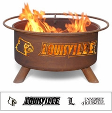 Louisville Cardinals Outdoor Fire Pit