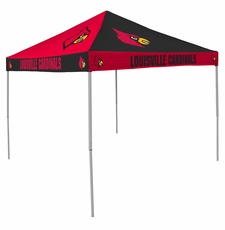 Louisville Cardinals Red / Black Checkerboard Logo Canopy Tailgate Tent