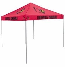 Louisville Cardinals Red Logo Canopy Tailgate Tent