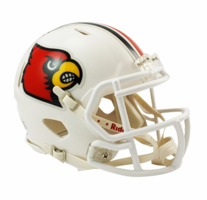 Louisville Cardinals Riddell Speed Mini Helmet