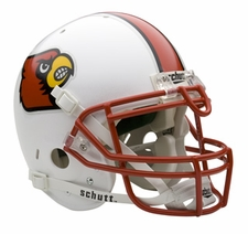 Louisville Cardinals Schutt Authentic Full Size Helmet