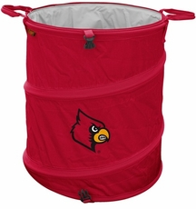 Louisville Cardinals Tailgate Trash Can / Cooler / Laundry Hamper